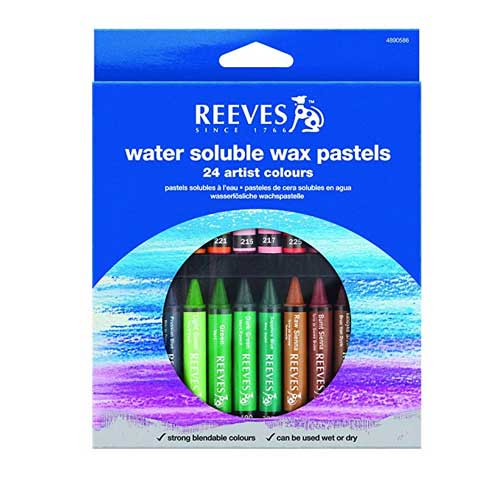 Water Soluble Wax Pastels